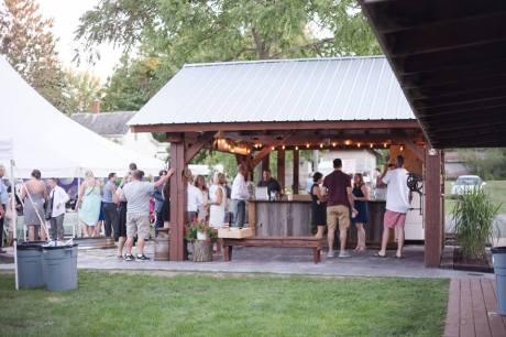 Bar pavilion